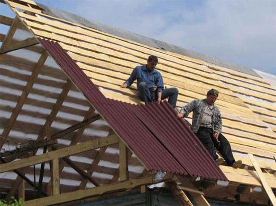 Как правильно положить ондулин на крышу своими руками