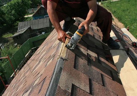 Сделать крышу из гибкой черепицы своими руками 46